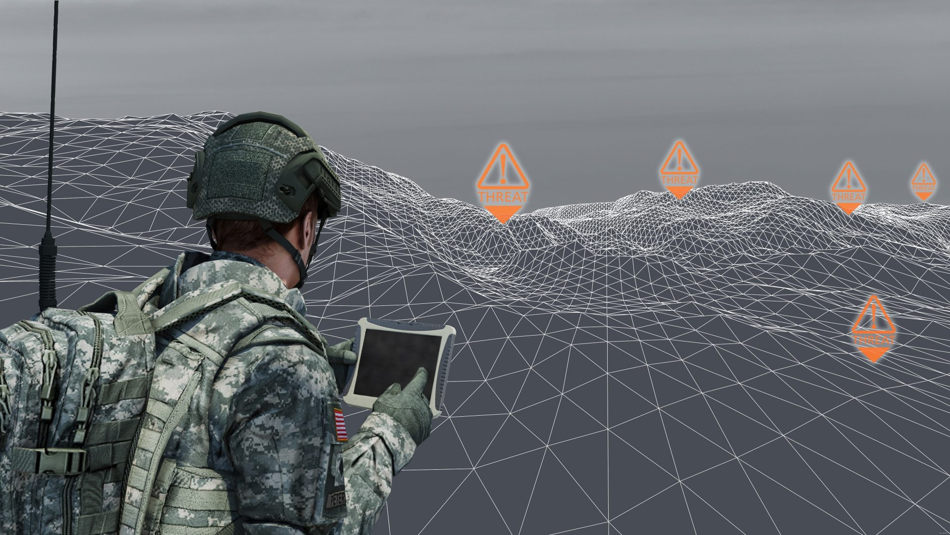 [BAE Systems / Breaking Defence] Solider, Battlefield Sensors Image