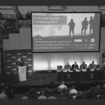 Snap shot of Gen Milley(US Army) at RUSI LWC