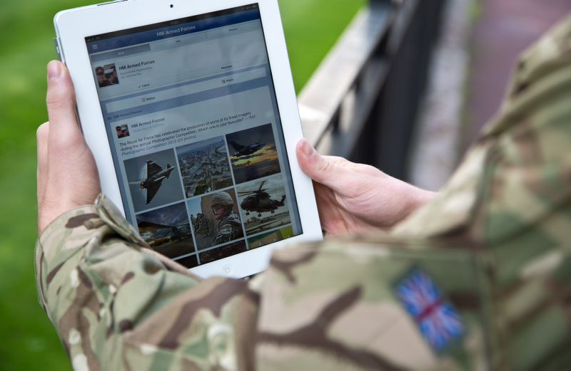 the British Army Communications Review is ongoing