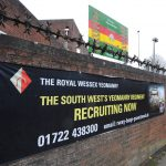 A army Reserve recruitment banner