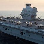 A British Aircraft carrier