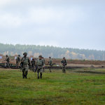 Army Reserve on exercise