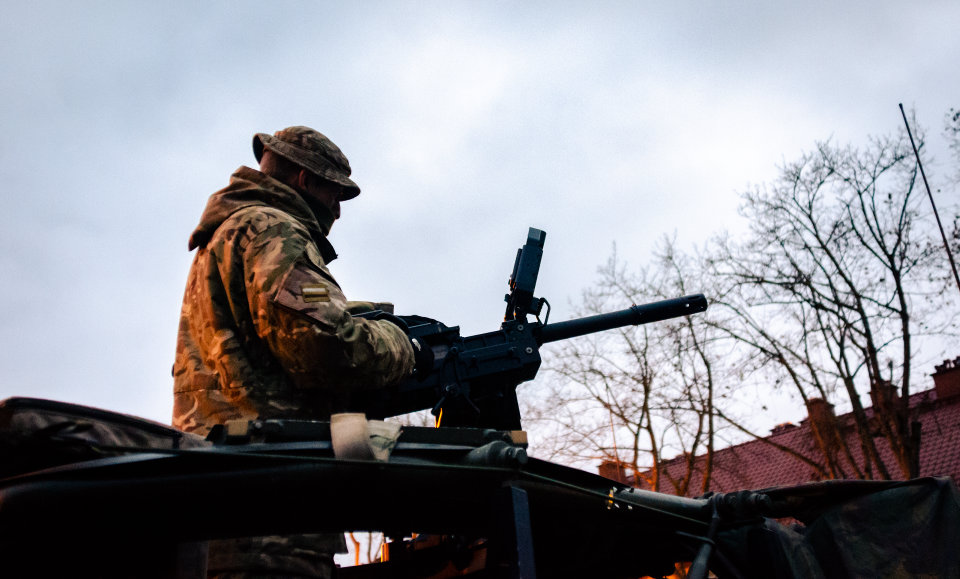 Reservists training on Op CABRIT, Poland