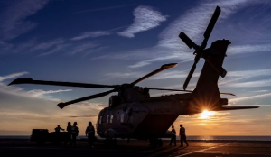 Royal Navy Merlin Helicopter Westlant 2019