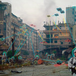 A drone swarm attacking a city. Current Technology would enable this.